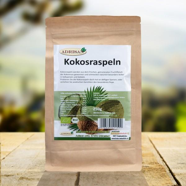 Bio Kokosraspeln, 250g, DE-ÖKO-013