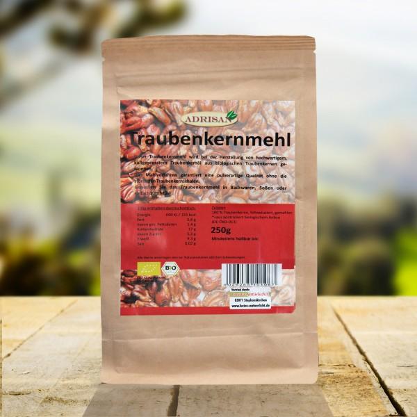 Bio Traubenkernmehl, 250g, DE-ÖKO-013