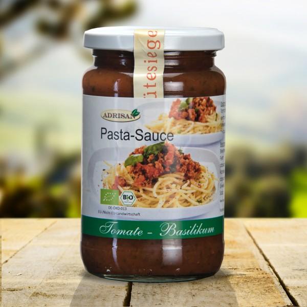 Bio Pastasauce Tomate-Basilikum, 370g, DE-ÖKO-013