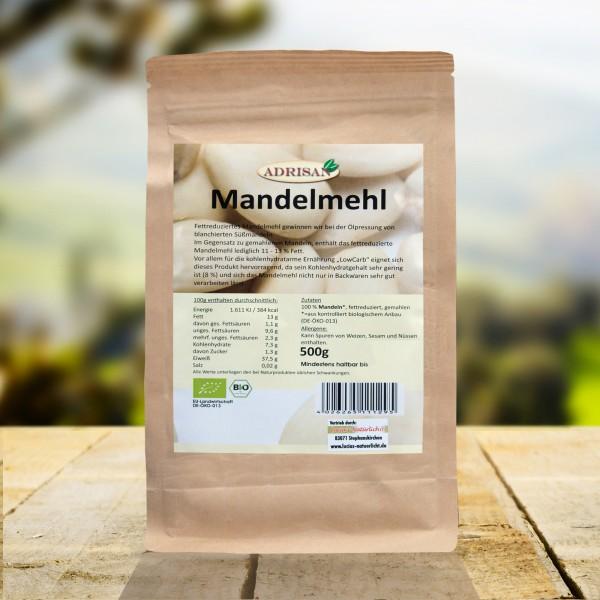 Bio Mandelmehl, 500g, DE-ÖKO-013