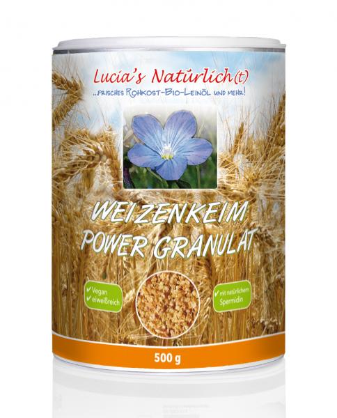 Lucia's Weizenkeim Power Granulat