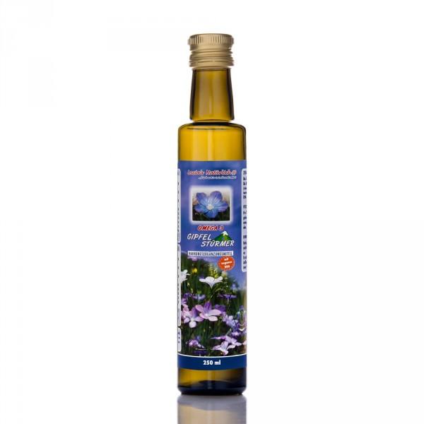 Lucia's Omega 3 Gipfelstürmer, 250 ml Glasflasche