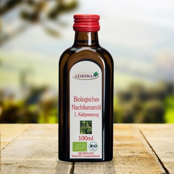 BIO Nachtkerzenöl, 100ml Glasflasche, DE-ÖKO-013