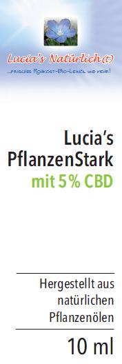 Lucia's PflanzenStark mit 5% CBD